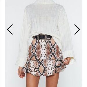 Flip It Snake Skirt